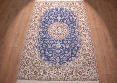 Наин 6ла — персидский ковер ручной работы. Материал шерсть и шелк. Страна Иран. Размер 247 х 158 см