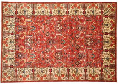 Пакистанский шерстяной ковер ручной работы 250 х 173 см