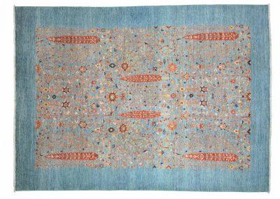 Пакистанский шерстяной ковер ручной работы 337 х 244 см