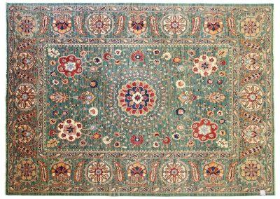 Пакистанский шерстяной ковер ручной работы 359 х 253 см