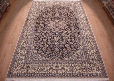 Наин 9ла — персидский ковер ручной работы. Материал шерсть и шелк. Страна Иран. Размер 396 х 248 см