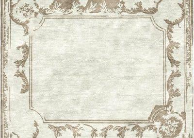 Art Deco French – луксозен ръчно тъкан килим от коприна 275 х 230 см