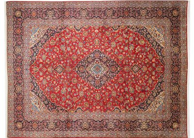 Кашан – персийски ръчно тъкан килим 399 х 301 см