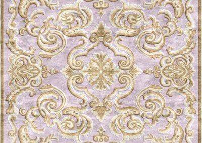 Art Deco Lila – луксозен ръчно тъкан килим 360 х 320 см