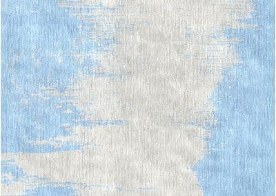 KHASYANOV DESIGN – модерен ръчно тъкан килим от коприна 300 х 250 см