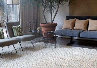 Plain Silk – модерен ръчно тъкан килим 400 х 300 см