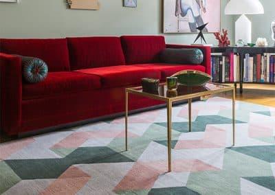 Geometrics 6 – модерен ръчно тъкан килим 400 х 300 см