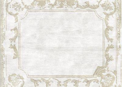 Renaissance Border Erased – 100% Bamboo Silk – 275 x 230 cm