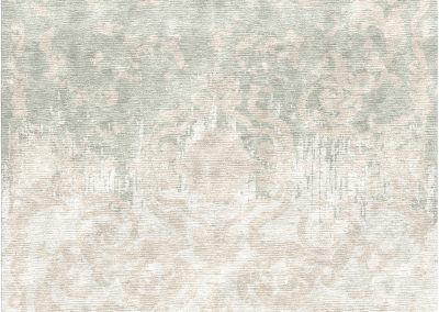 French Deco Erased – 100% Chinese Silk – 350 x 350 cm