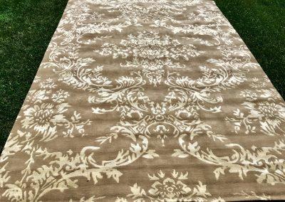 Ренессанс — бамбуковый шелк и гималайская шерсть \ 350 х 250 см