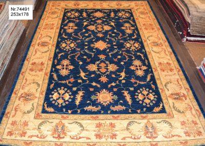 Ziegler – 100% wool – 253 x 178 cm