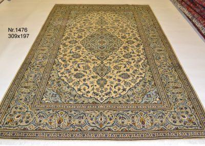Персийски ръчно тъкан килим – 100% вълна – 309 х 197 см