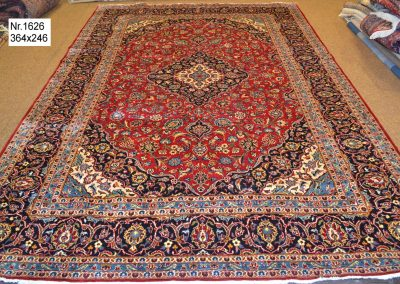 Персийски ръчно тъкан килим – 100% вълна – 364 х 246 см