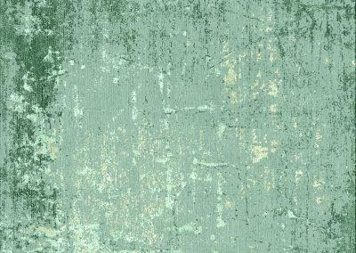 HORIZONS ABSTRACT GREEN – хималайска вълна и бамбукова коприна