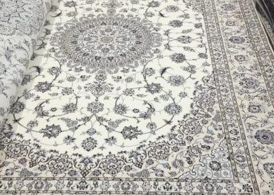 Персидский ковер Наин 6ла — шерсть и шелк — 300 х 200 см