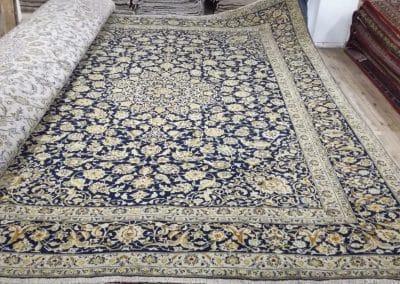 Персидский ковер Кашан — 100% шерсть — 393 х 295 см