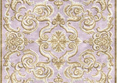 French Deco Erased – 100% Bamboo Silk –  320 x 360 cm