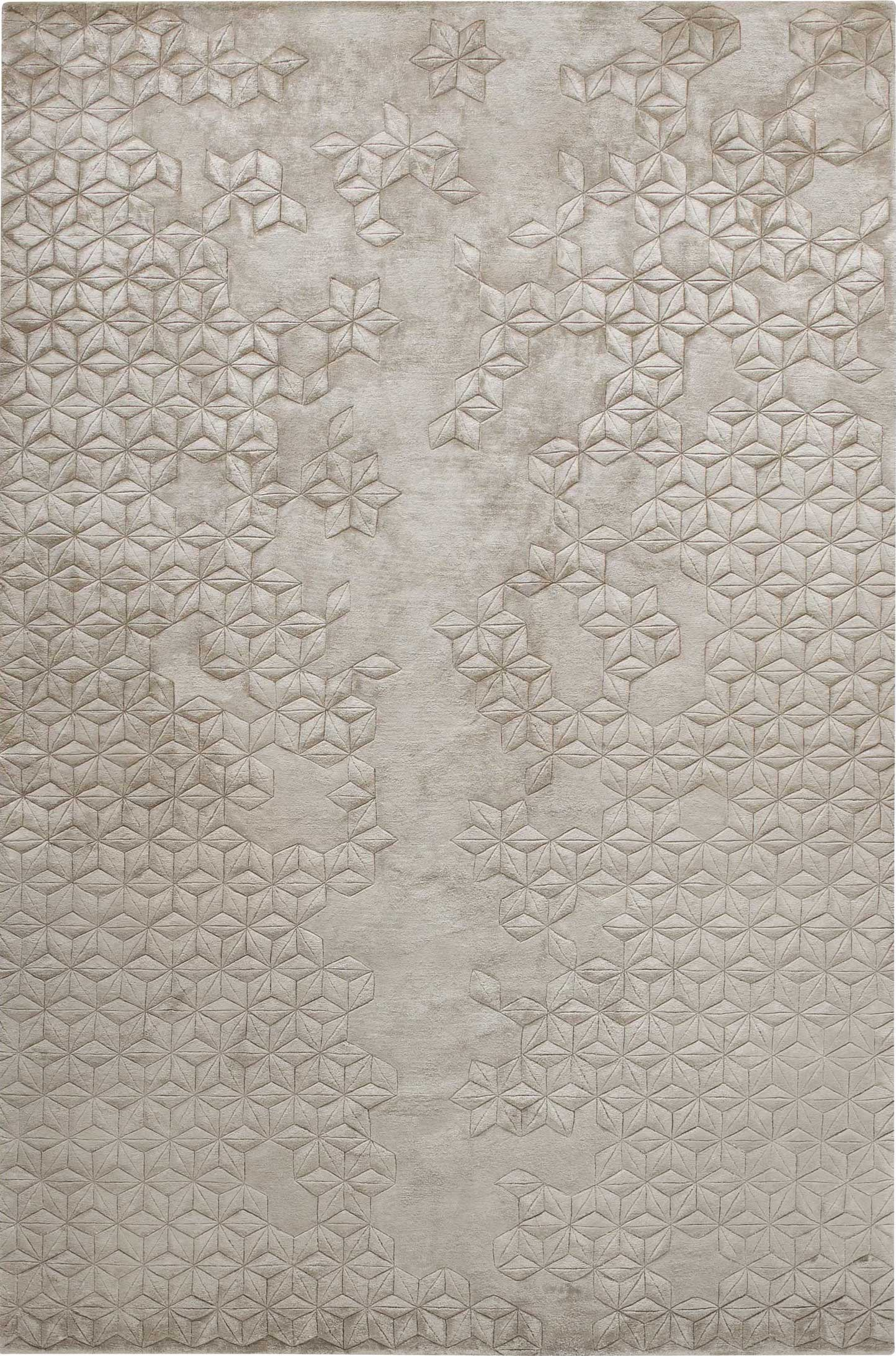 Hand knotted silk rugs