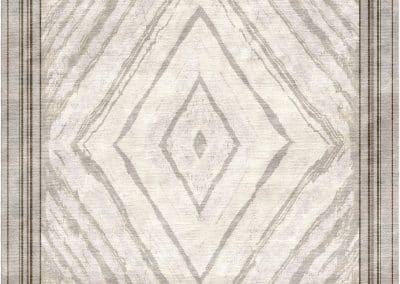 Мрамор — натуральный шелк — 370 х 350 см