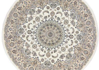 Наин – персийски килим от финна вълна и коприна – 245 х 245 см