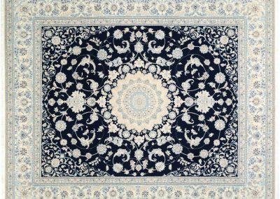 Наин – персийски килим от финна вълна и коприна – 303 х 249 см