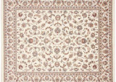 Persian Tabriz Rug – wool & silk – 243 x 200 cm
