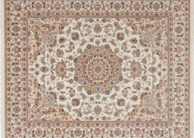 Persian Tabriz Rug – wool & silk – 247 x 200 cm