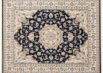 Persian Tabriz Rug – wool & silk – 250 x 198 cm