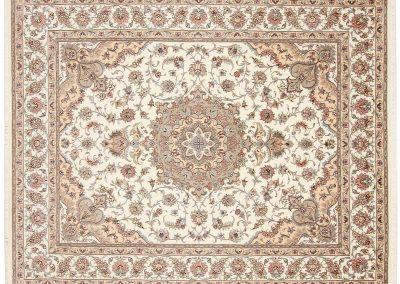 Persian Tabriz Rug – wool & silk – 252 x 198 cm