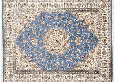 Persian Tabriz Rug – wool & silk – 253 x 197 cm
