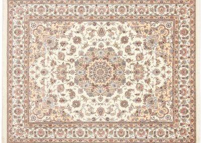 Persian Tabriz Rug – wool & silk – 257 x 197 cm