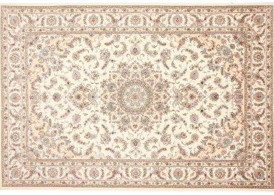 Persian Tabriz Rug – wool & silk – 296 x 200 cm