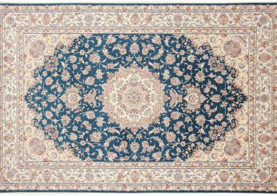 Persian Tabriz Rug – wool & silk – 300 x 198 cm