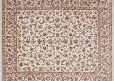 Persian Tabriz Rug – Wool & Silk – 303 x 250 cm